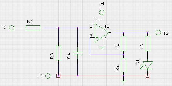 Touch Probe analog to digital conversion circuit